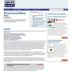 WRT54G Story wifi