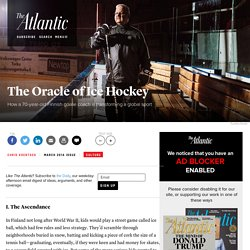 The Oracle of Ice Hockey
