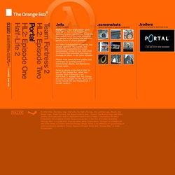 Page officielle (The Orange Box)