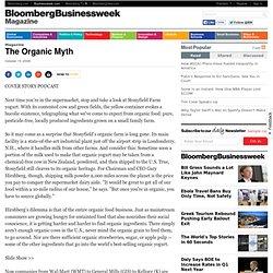The Organic Myth