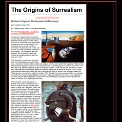 The Origins of Surrealism