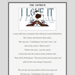 The OSTRICH Story - StumbleUpon