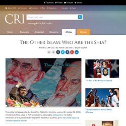 The Other Islam: Who Are the Shia?