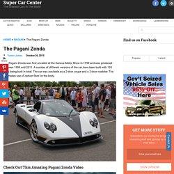 The Pagani Zonda - Super Car Center