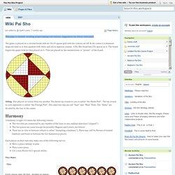 The Pai Sho Project / Wiki Pai Sho