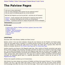 The Palview Pages