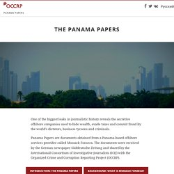 The Panama Papers - The Panama Papers