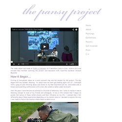The Pansy Project - About
