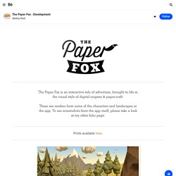 The Paper Fox on the Behance Network