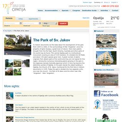 The Park of Sv. Jakov - Opatija Online