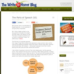 The Parts of Speech 101