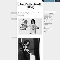 The Patti Smith Blog