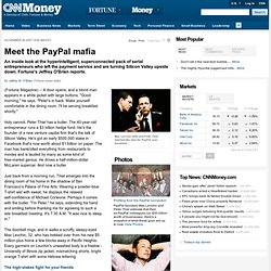 The PayPal mafia - Nov. 14, 2007