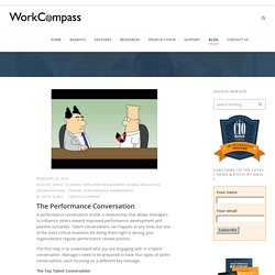 The Performance Conversation - WorkCompassWorkCompass