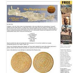 The Phaistos Disk: Viewzone