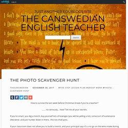 The Photo Scavenger Hunt