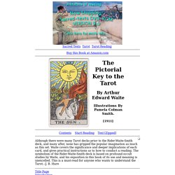 The Pictorial Key to the Tarot Index