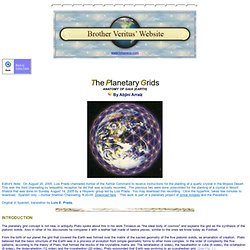 The Planetary Grids