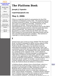 The Platform Book