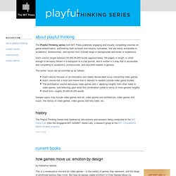 The Playful Thinking Series