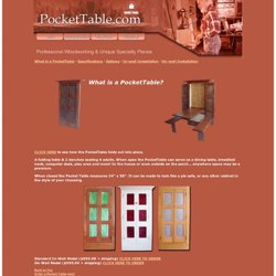 The Pocket Table