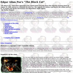 perverseness black cat 9 what does the narrator's first cat, pluto, and the new cat have in common a they both are completely black b they both are without their tails.