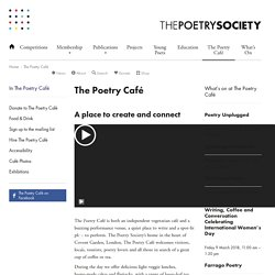 The Poetry Café – The Poetry Society