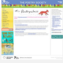 The Poetry Society (Poetryclass)