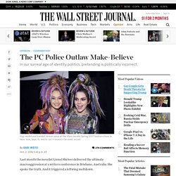 The PC Police Outlaw Make-Believe