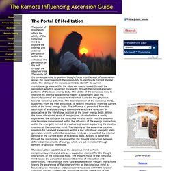 The Portal Of Meditation