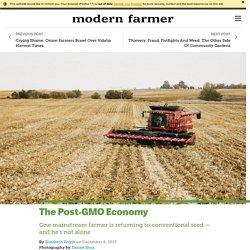 The Post-GMO Economy