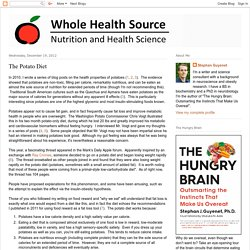 Whole Health Source: The Potato Diet