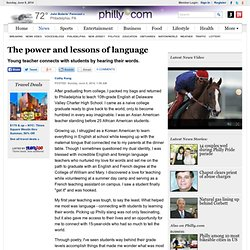 The power and lessons of language