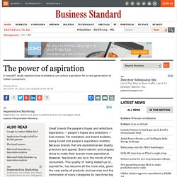 The power of aspiration