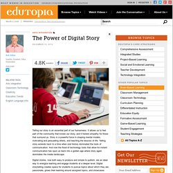 The Power of Digital Story