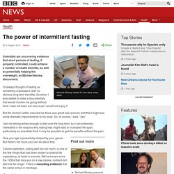 The power of intermittent fasting