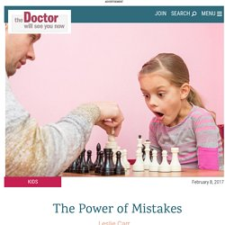 The Power of Mistakes