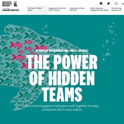 The Power of Hidden Teams