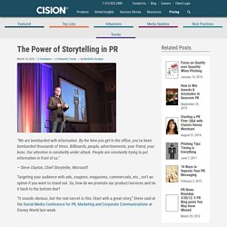 The Power of Storytelling in PR
