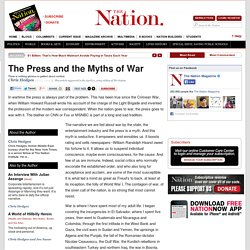 The Press and the Myths of War