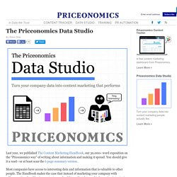 The Priceonomics Data Studio