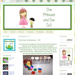 The Princess and the Tot: September 2012