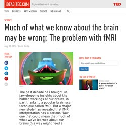 The problem with fMRI