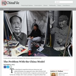 The Problem With the China Model