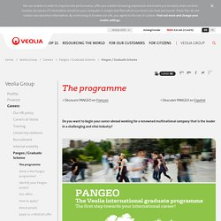 Veolia International Graduate Programme