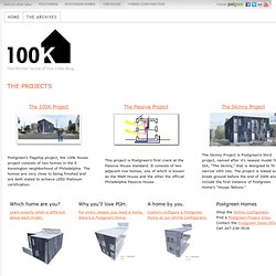 THE PROJECTS — 100K House Blog
