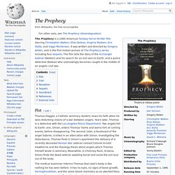 The Prophecy - Wikipedia
