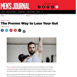 The Proven Way to Lose Your Gut
