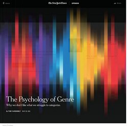 The Psychology of Genre