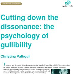 The psychology of gullibility